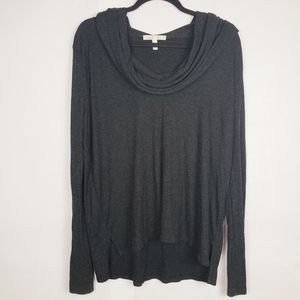 Soft joie cowl neck long sleeve top